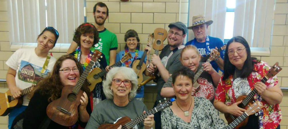 The Allegheny Ukes perform for groups all over!