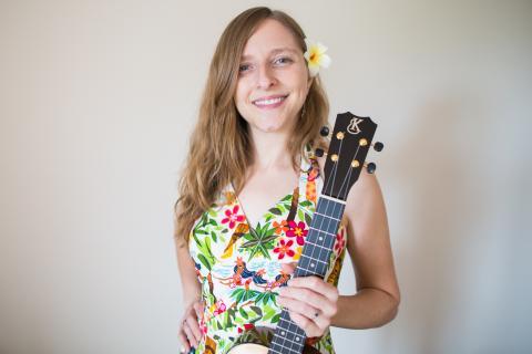 Sarah Maisel, Queen of Jazz Ukulele